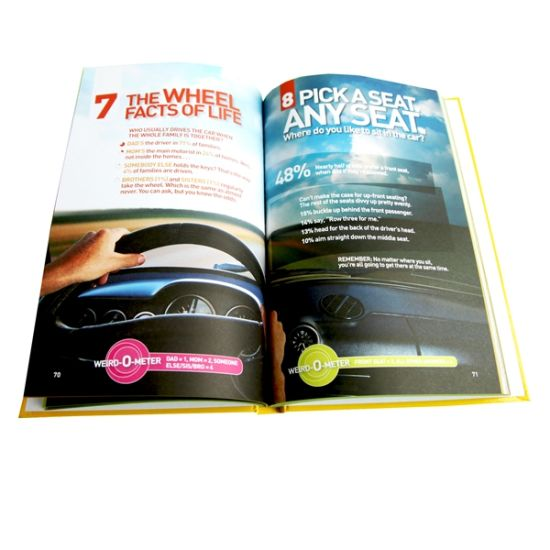Colorful Customized Hard Cover Book Printing