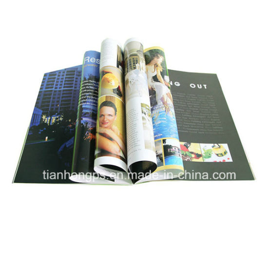 Book Printing Services, Magazine Printing Costs (OEM-MG004)