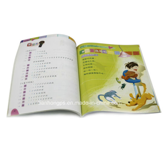 Soft Cover Offset Paper Children Text Book Printing