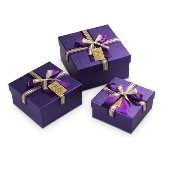 Noble Gift Box with Ribbons