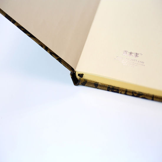 Hard Cover Notebook with Three Edges Golden Gilt
