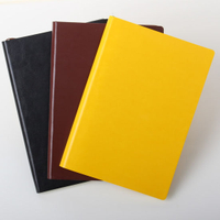 PU Leather Diary Planner Organizer PU Leather Notebook for Promotion