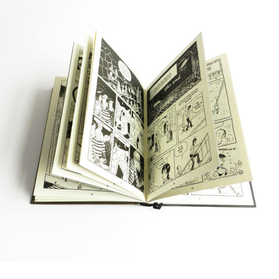 Black and White Comic Book Printing Services