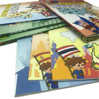Kids Softcover Books Factory Customized Full Color Children Book Printing