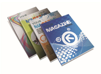 Glue Binding Softcover Books with Customized Designs