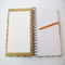 Wrie-O Binding Hard Cover Notebook, Spiral Binding Notebook