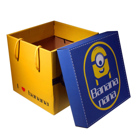 Foldable Shopping Colorful Printing Boxes, Paper Package Box