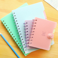 Plastic Cover Wire-O Binding Notebook, Journal Printing